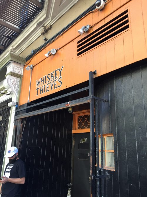 Whiskey Thieves SF