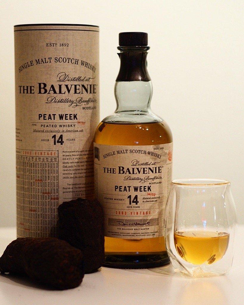 Balvenie Peat Week 14 2003 Edition