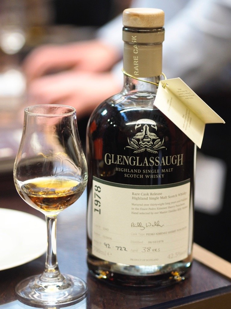 Glenglassaugh 1978 38 Year Old PX Cask