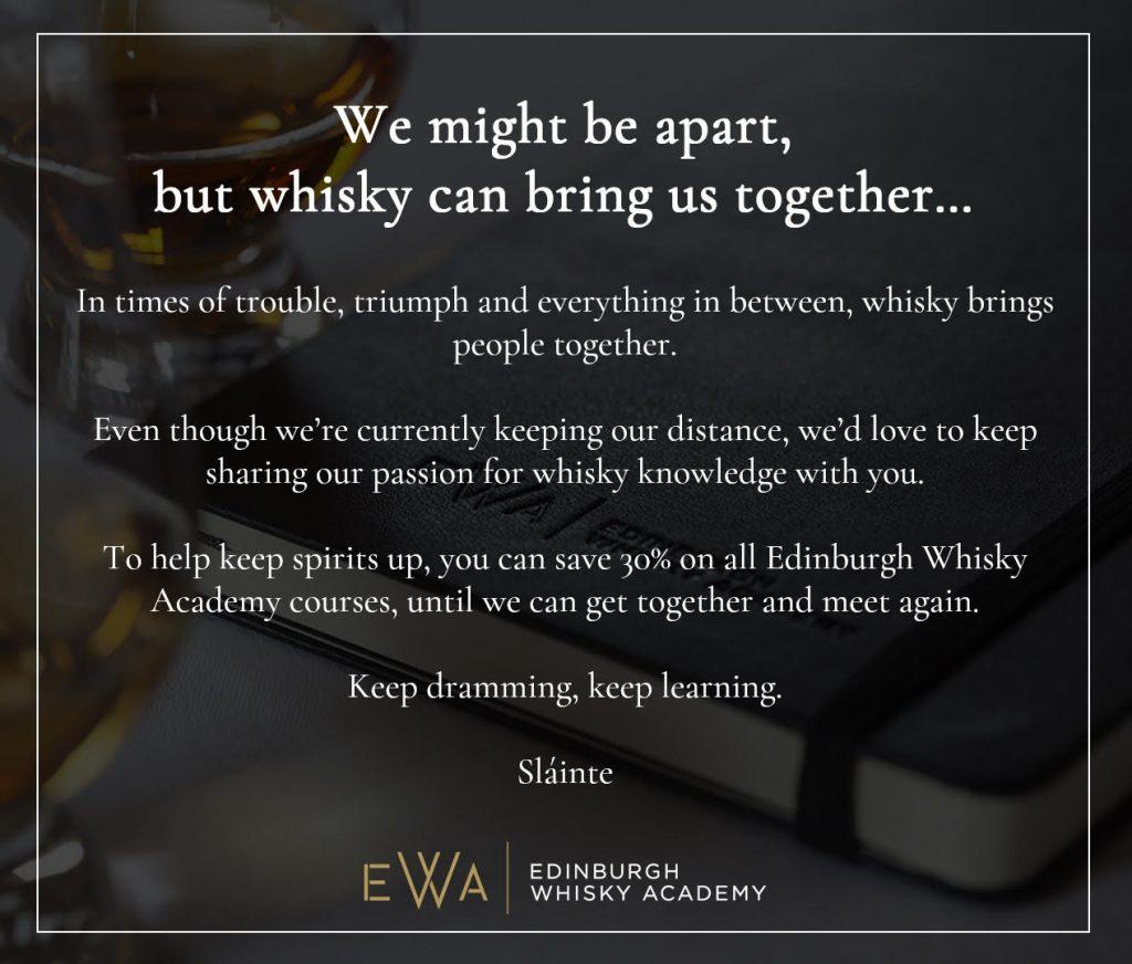 Edinburgh Whisky Academy Discount